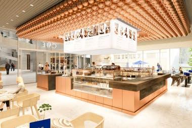 Lindt Home of Chocolate también ofrece la cafetería más grande la empresa