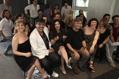 Con Alberto Favero compartió la vida y el trabajo. Una de las propuestas que los unió en escena fue Tita, una vida en tiempo de tango, el musical de teatro que giraba en torno a la figura de Tita Merello