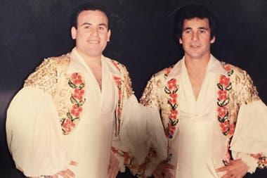 Con su primo, el Negro Lozano, formó una celebrada dupla de trapecistas