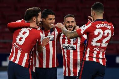 A la ofensiva: El delantero de colchón dirigido por Louis Suárez, con 17 goles, es el segundo máximo goleador del torneo;  Solo la Real Sociedad la supera, y aún le queda partido