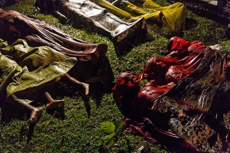 28 de septiembre de 2017. La embarcación en la que huían refugiados de Myanmar, volcó. Sólo hubo 17 sobrevivientes.