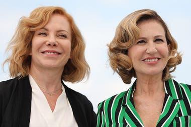 Cecilia Roth y Mercedes Morán, dos figuras de peso en el film El ángel, basado en la historia de Robledo Puch