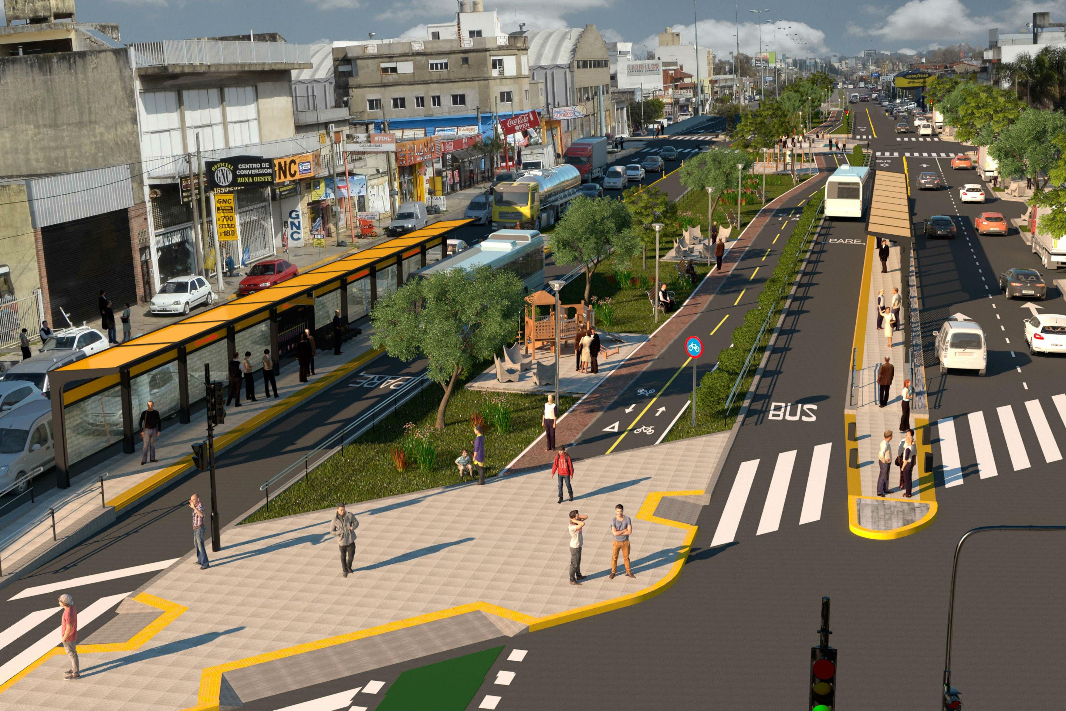 Inauguran el metrobus de Quilmes y se esperan dos más en el conurbano