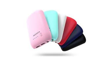 A full. Cargadores Series P10050 y P20100 de Adata, que permite cargar el celular hasta cuatro veces ($680, el P10050; y $990, de P20100)
