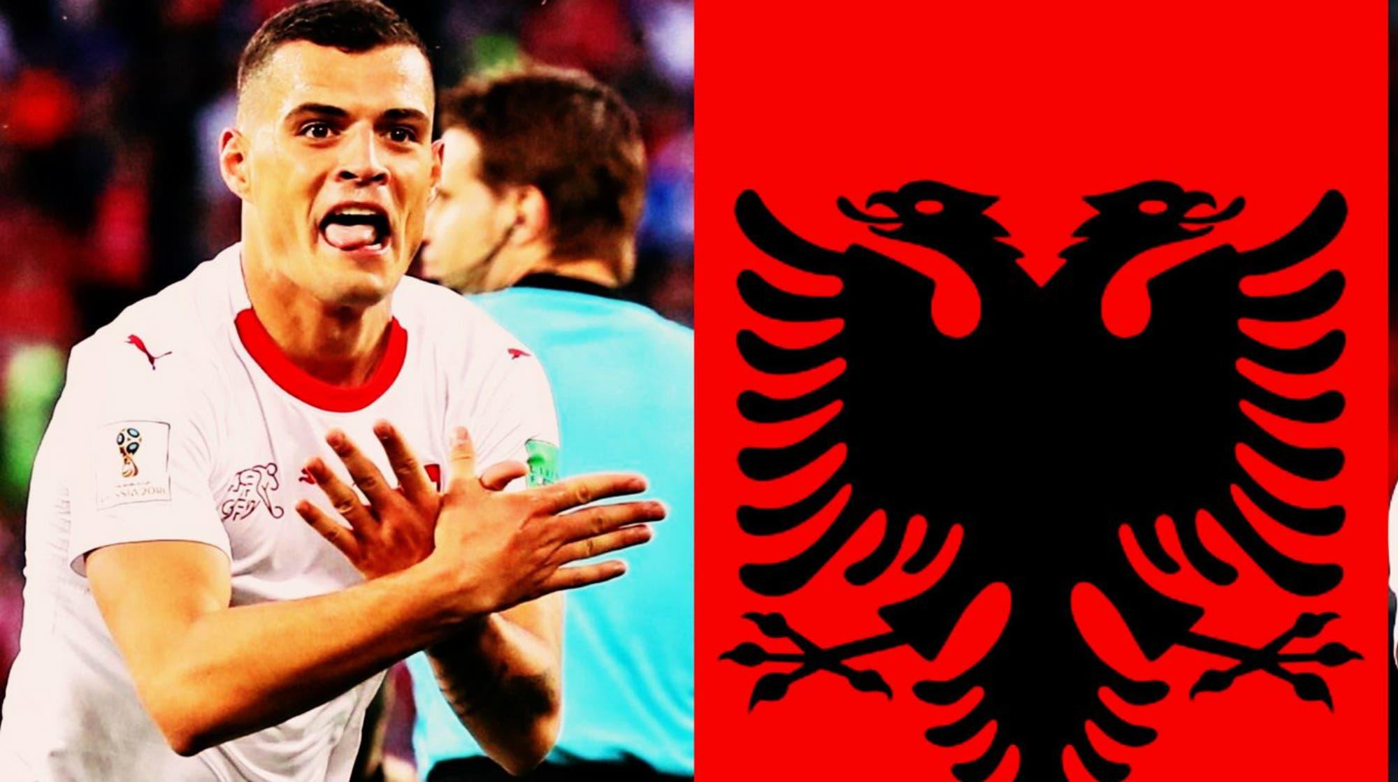 Los suizos Shaqiri y Xhaka podrían ser sancionados por la FIFA por los gestos en los festejos