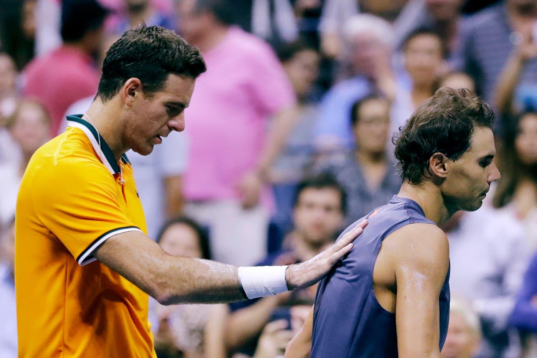 Del Potro, finalista del US Open: el momento en que Nadal decidió retirarse y el aplauso del argentino