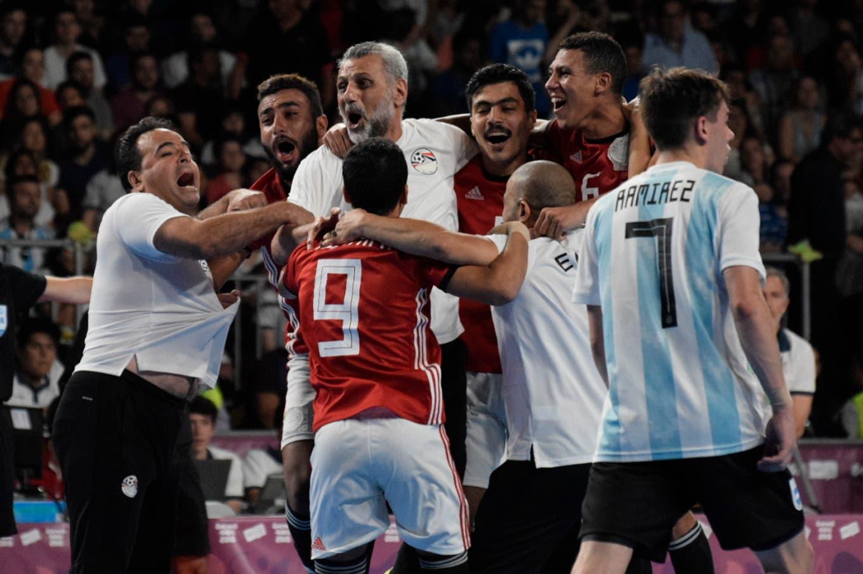 Juegos Olímpicos de la Juventud  la selección de futsal goleaba ... 69c1012275586