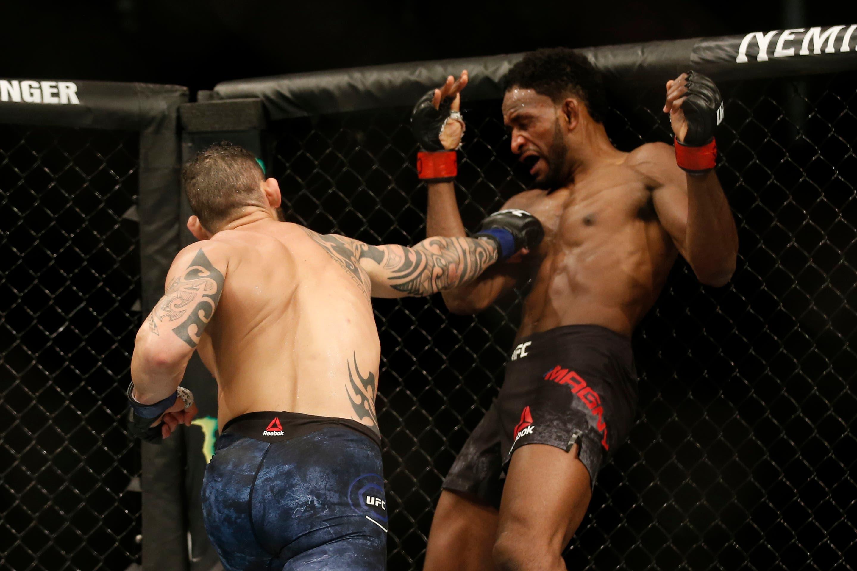 UFC: Santiago Ponzinibbio ganó en su regreso a la Argentina y sueña con el título