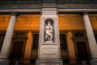 En Florencia el joven Leonardo comenzó su formación como artista
