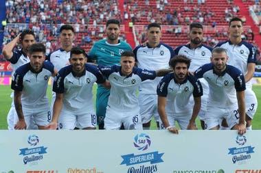 El equipo titular de Independiente que jugó en la última fecha ante San Lorenzo.