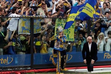 Carlos Bianchi en su última vuelta a Boca en 2012