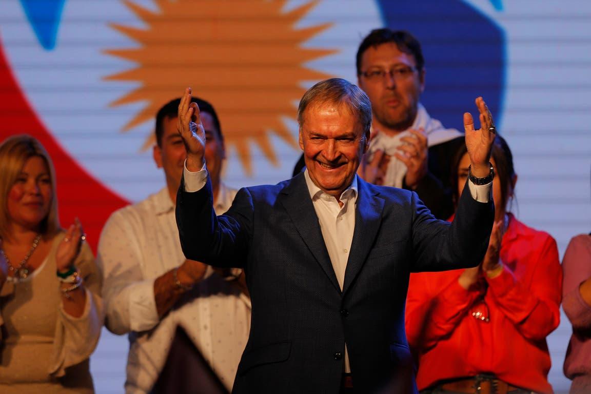 Schiaretti celebró su triunfo con un discurso pasadas las 22.30