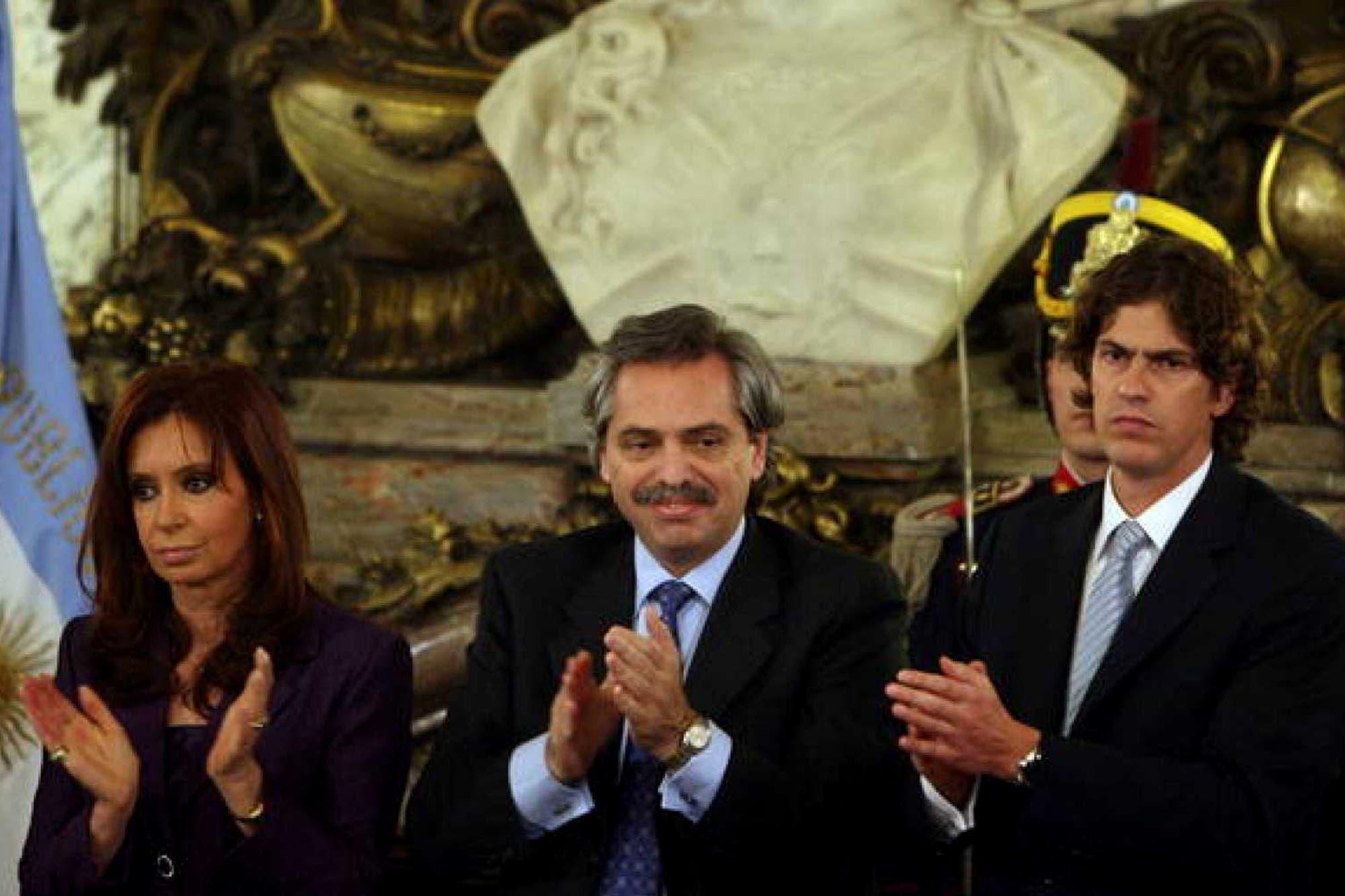 Cristina Kirchner explicó el exabrupto de Alberto Fernández contra Martín Lousteau por la 125
