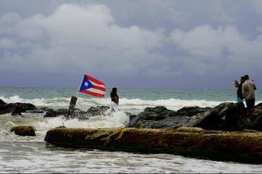 El huracán ya pasó por el norte de Puerto Rico