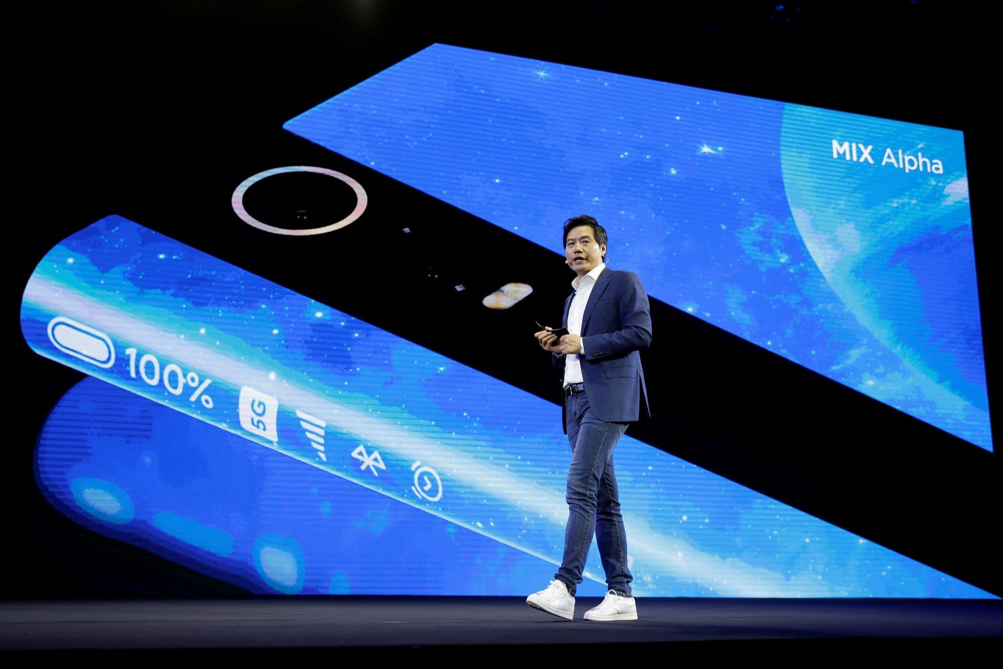 Este es el Xiaomi Mi Mix Alpha, el teléfono con pantalla extendida y cámara de 108 megapixeles