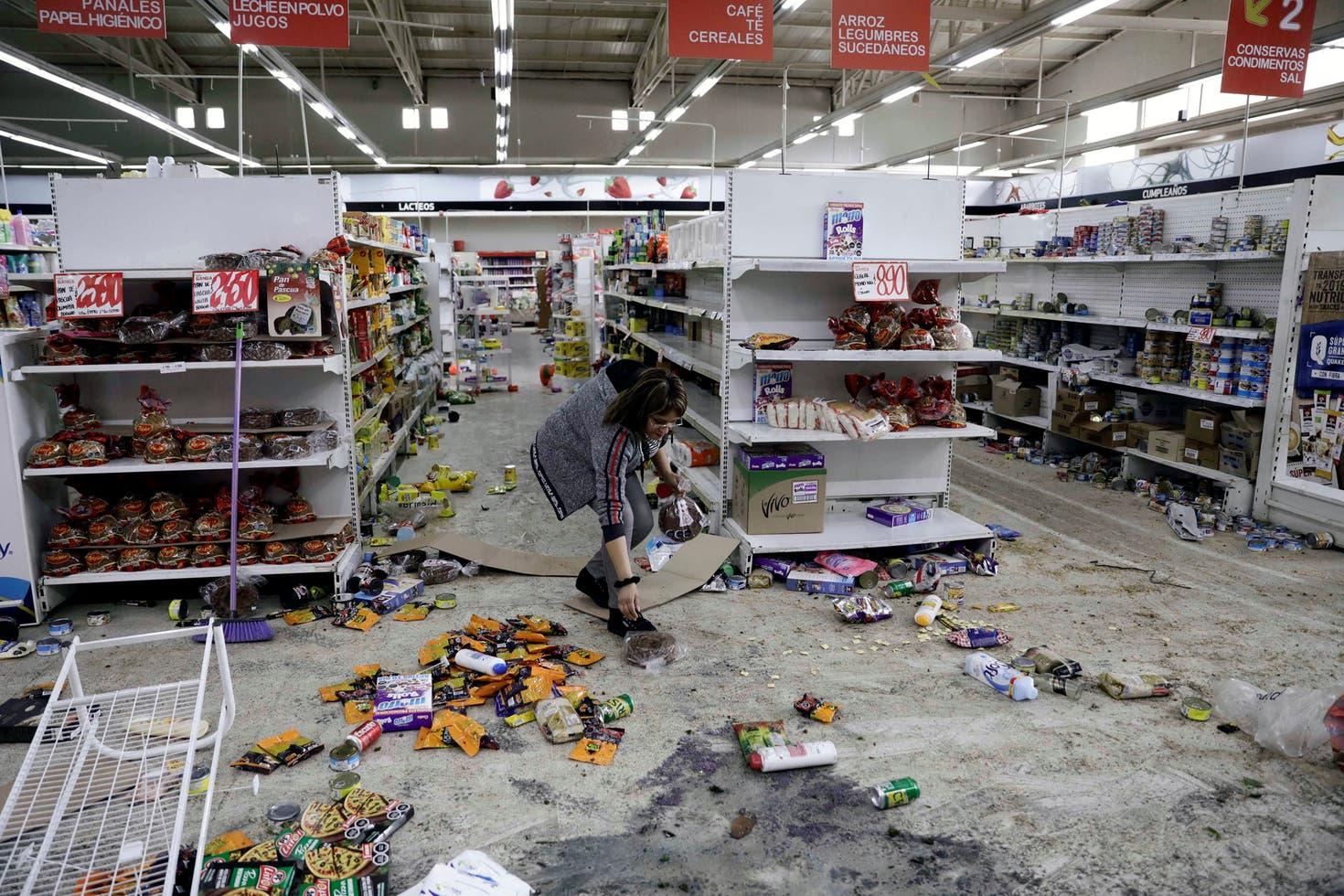 Image result for supermercado destruido chile