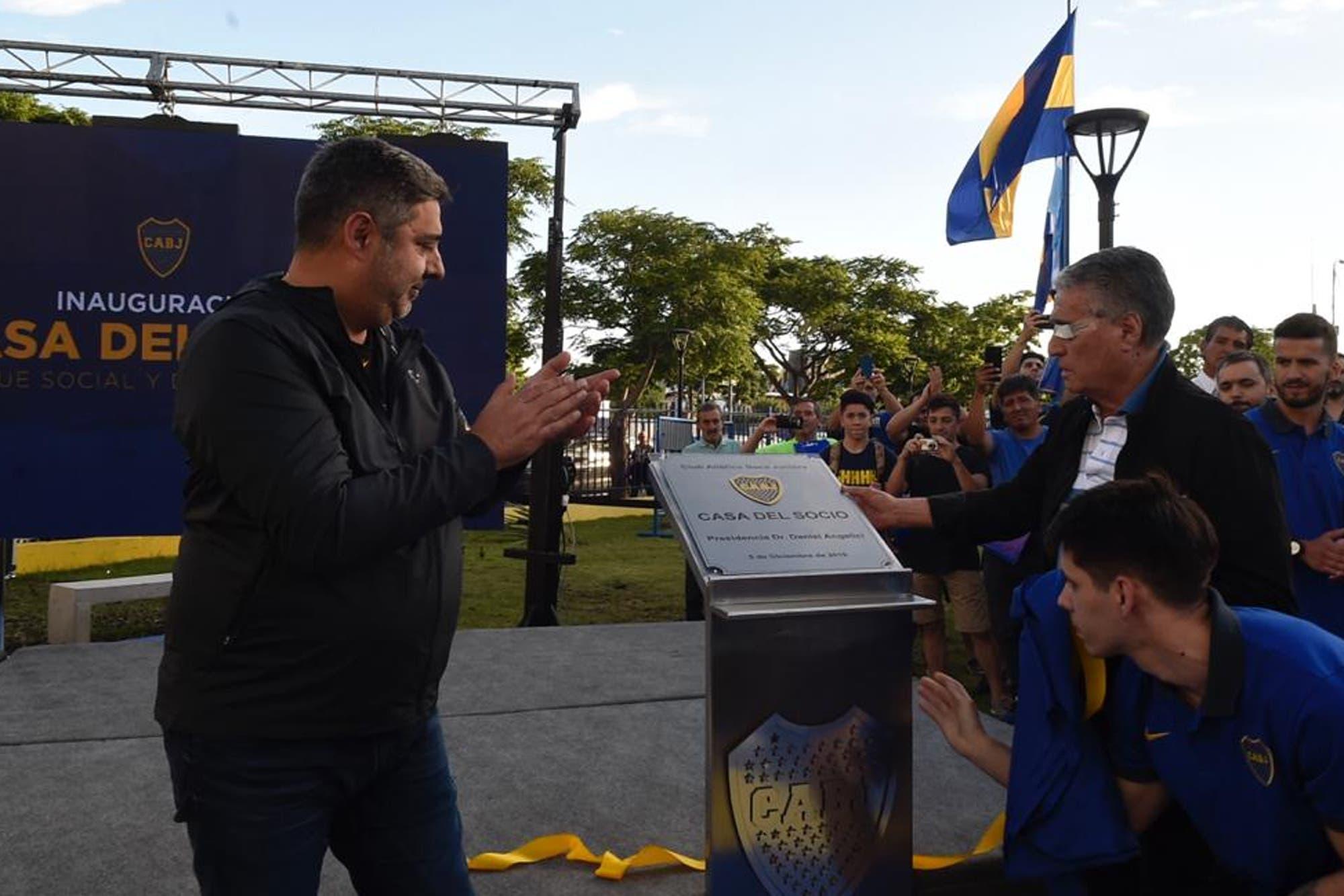 Se inauguró la nueva Casa del Socio en el Parque Social y Deportivo Boca Juniors