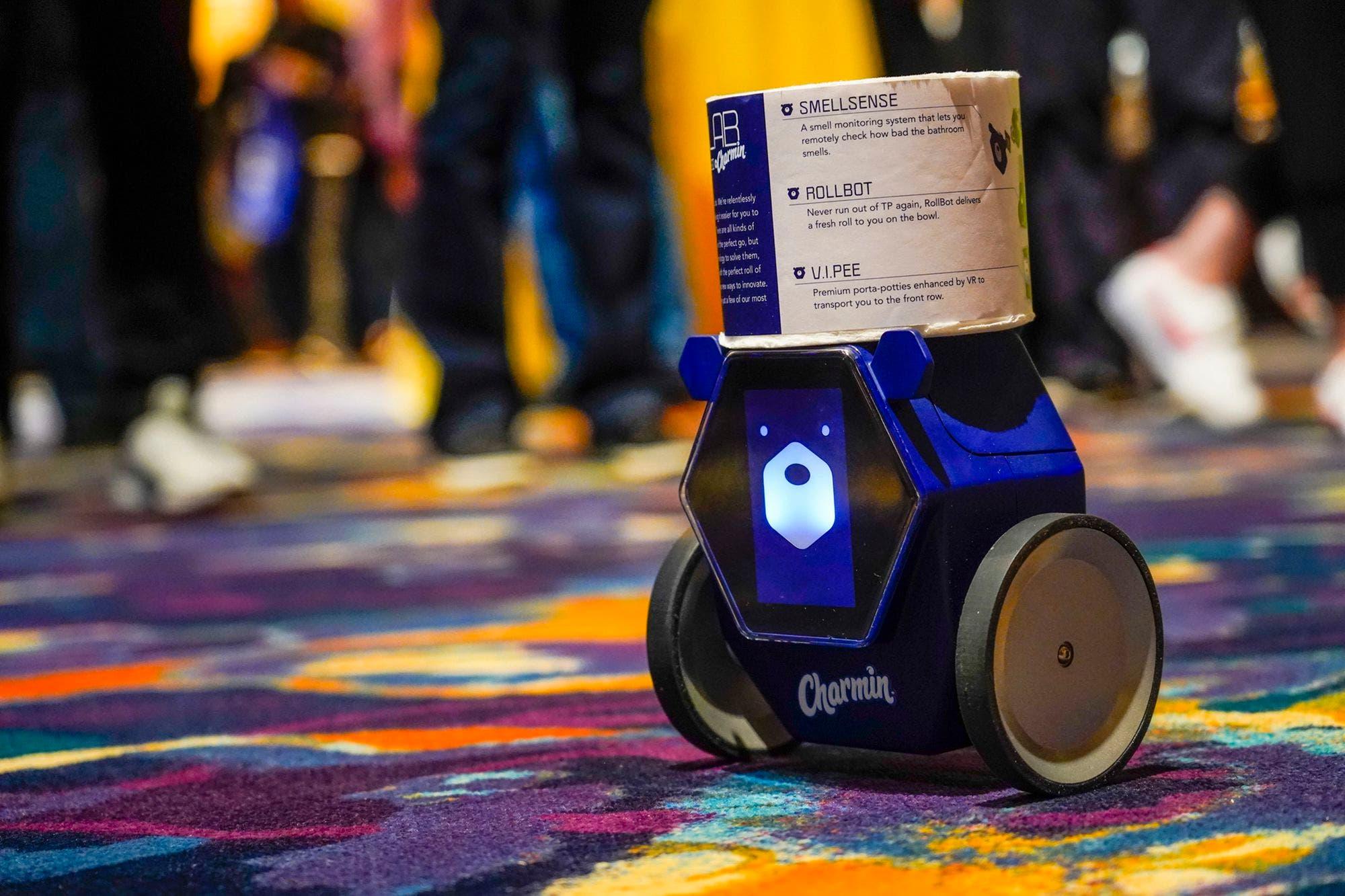 CES 2020: Charmin Rollbot te trae papel higiénico al baño cuando se acaba