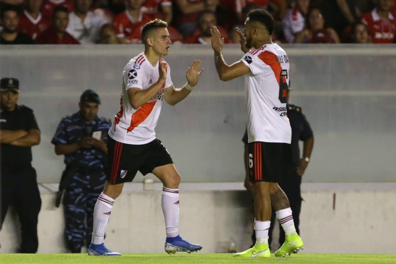 Independiente-River: el millonario gana el clásico con un doblete de Rafael Borré