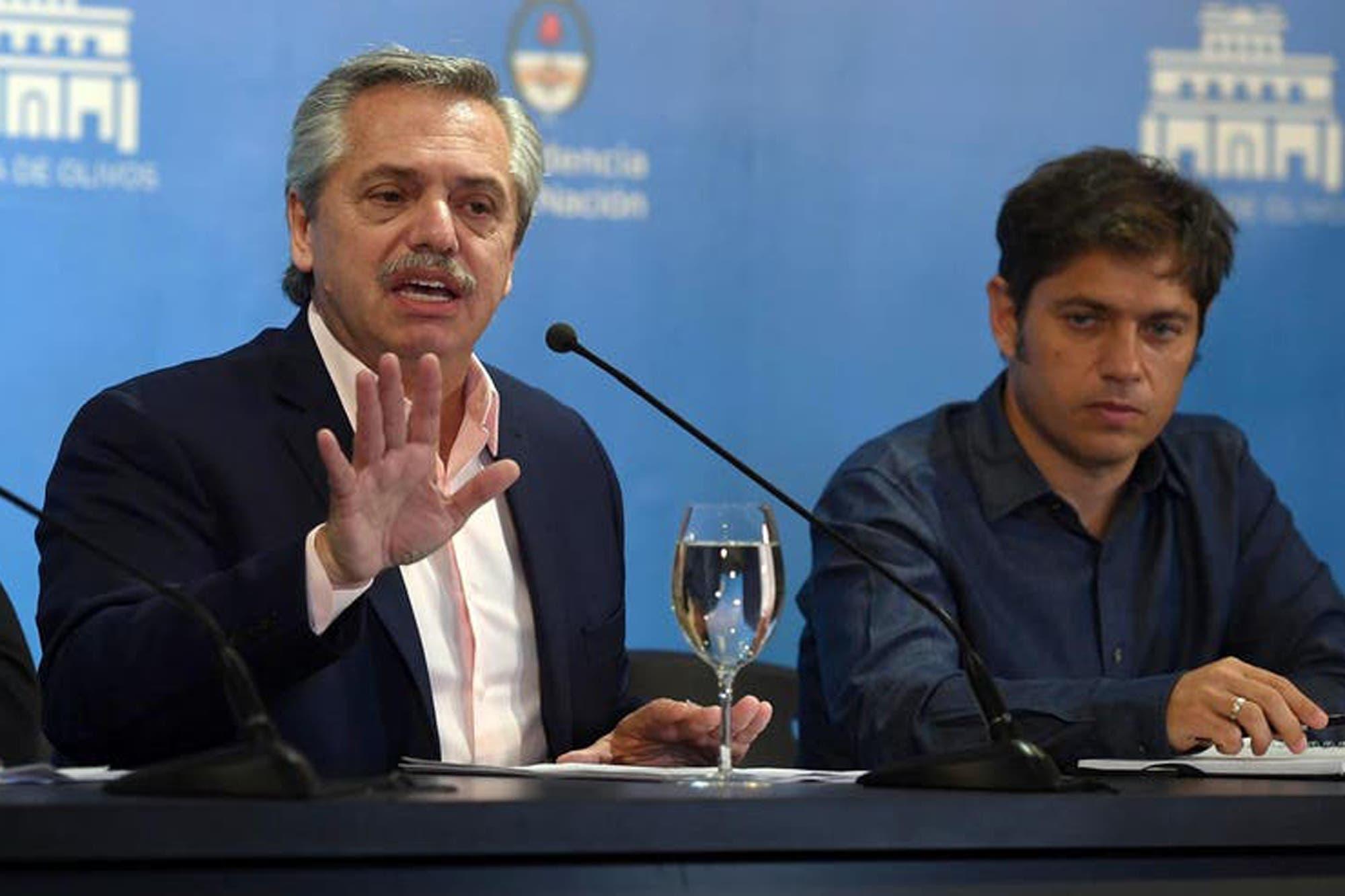 La dura respuesta de Alberto Fernández a Alfonso Prat-Gay