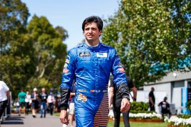 Carlos Sainz, deseoso de que haya un gran espectáculo en la F1