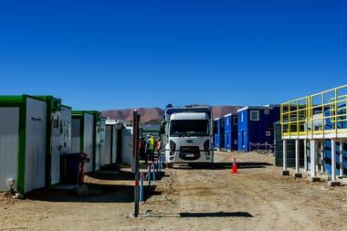 Las instalaciones de la mina de litio de Exar