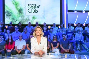 Isabelle conduce Rugby Club, uno de los programas más importantes de ese deporte en Francia.