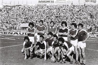 El equipo de Sarmiento de Junín en aquel especial 1° de noviembre de 1980