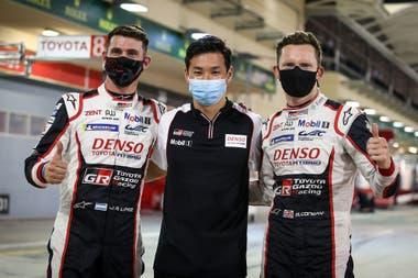 """""""Mike y Kamui hacen geniales las cosas y con esa calidad de pilotos, uno sabe que cuando no está al 100% tiene compañeros que van a salvarle las papas"""", destaca López sobre el inglés y el japonés."""