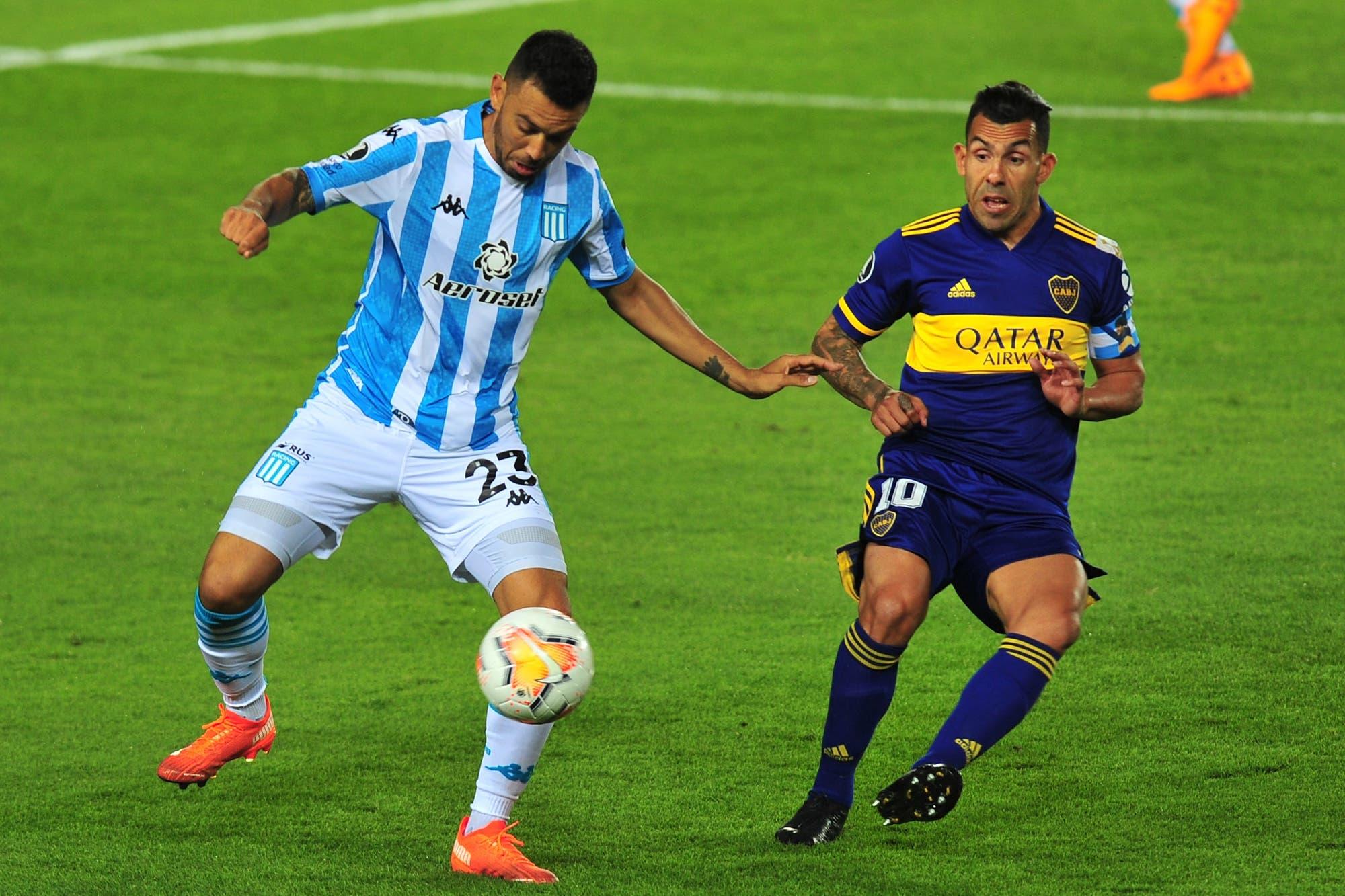 Boca-Racing: horario, TV y formaciones del partido de cuartos de final de la Copa Libertadores