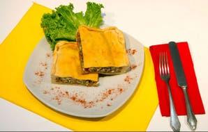 Empanada gallega de sardinas