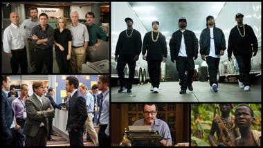 Mejor elenco en película: Spotlight, Straight Outta Compton, The Big Short, Trumbo y Beasts of No Nation