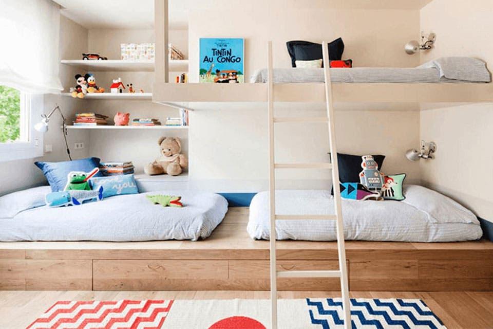 10 ideas para decorar un cuarto de hermanos