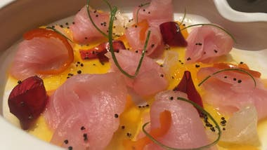 Sabores cuidados de la cocina nikkei que se prepara en Osaka, ahora con nueva dirección en Vitacura