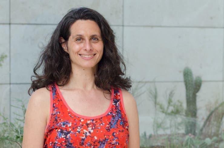 Irene Kopelman trabajó durante más de dos años con geólogos y biólogos