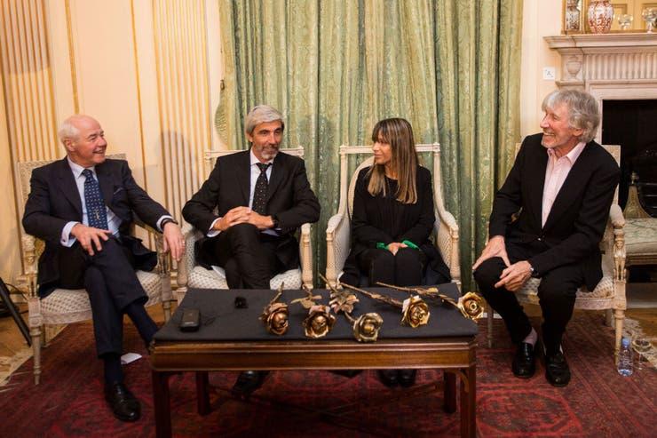 El acto se realizó en la residencia del embajador argentino en esa ciudad