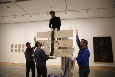 El equipo del Moderno monta la obra Besos brujos, de Alberto Greco