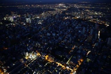 La ciudad capital de Hokkaido, Sapporo, estuvo sin luz durante horas