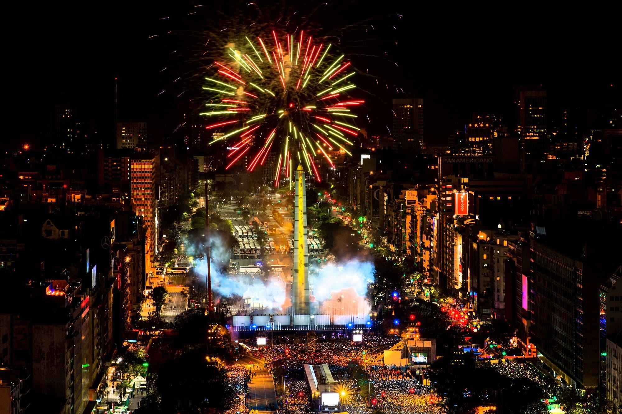 Juegos Olímpicos de la Juventud: las mejores fotos de la ceremonia inaugural en pleno centro porteño
