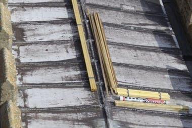 Alrededor de 20 toneladas de plomo fueron robadas del techo de la iglesia.