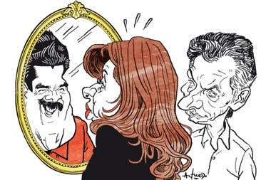 Nicolás Maduro, Cristina Kirchner y Mauricio Macri