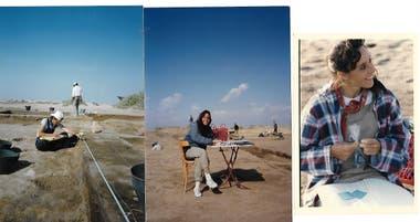 La egiptóloga Andrea Zingarelli viaja desde 1995 a investigar distintos elementos del Antiguo Egipto