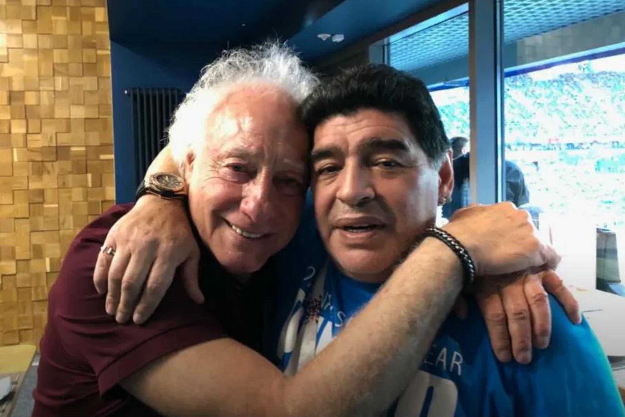 El consejo de Guillermo Coppola a Diego Maradona antes de su debut en Gimnasia