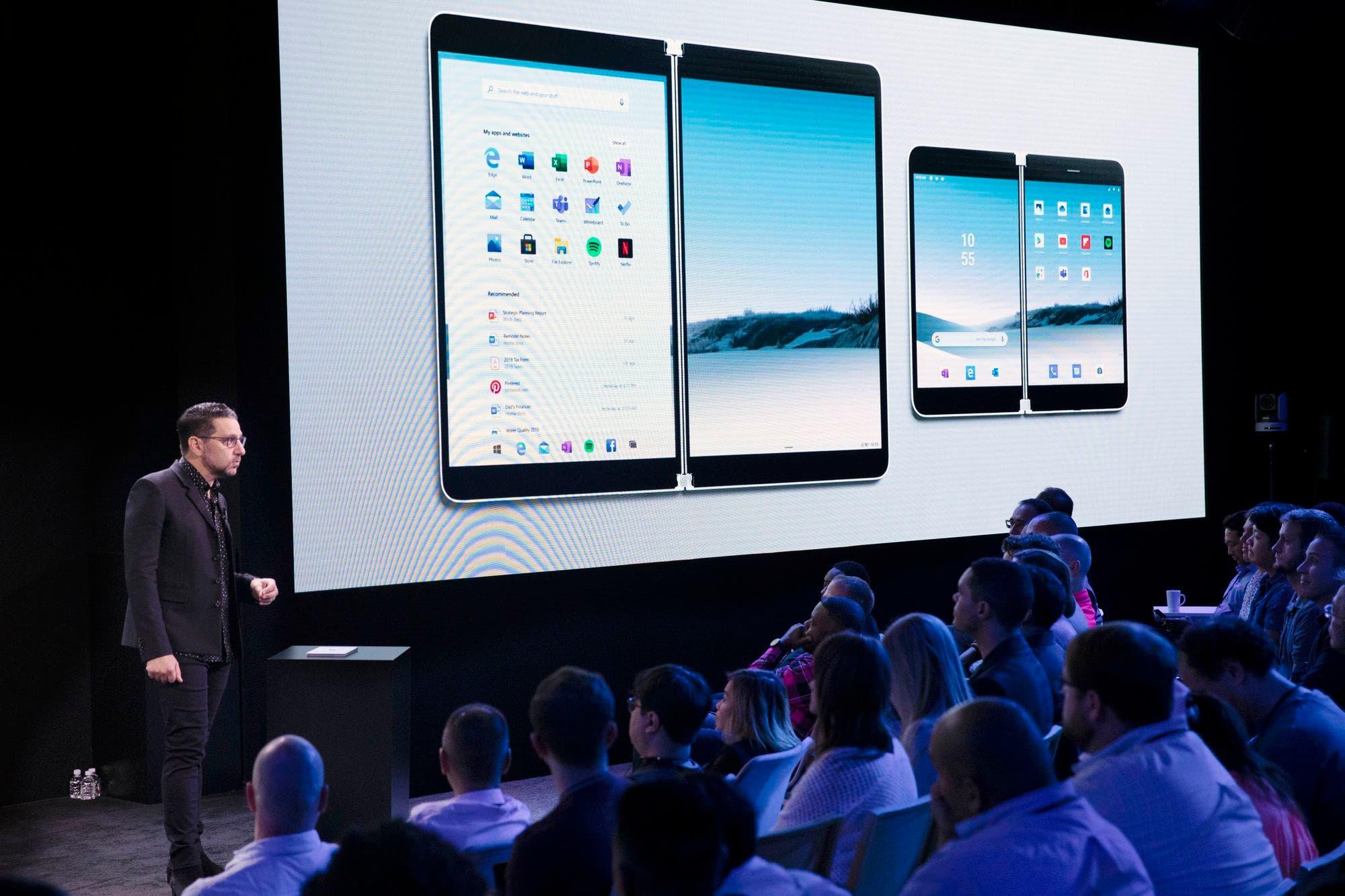 Surface Duo y Surface Neo: Microsoft apuesta por dispositivos de doble pantalla