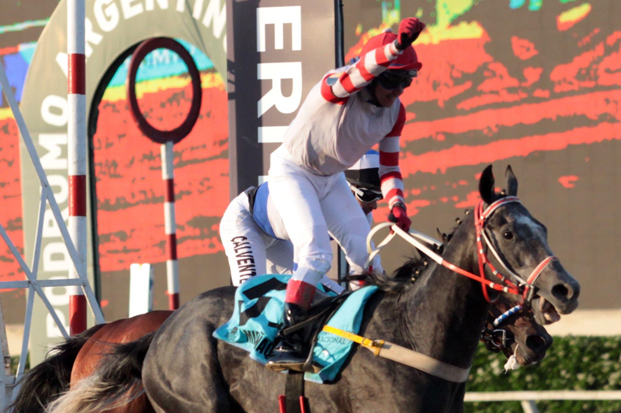 Gran Premio Nacional: Miriñaque se quedó con la última carrera de la Triple Corona
