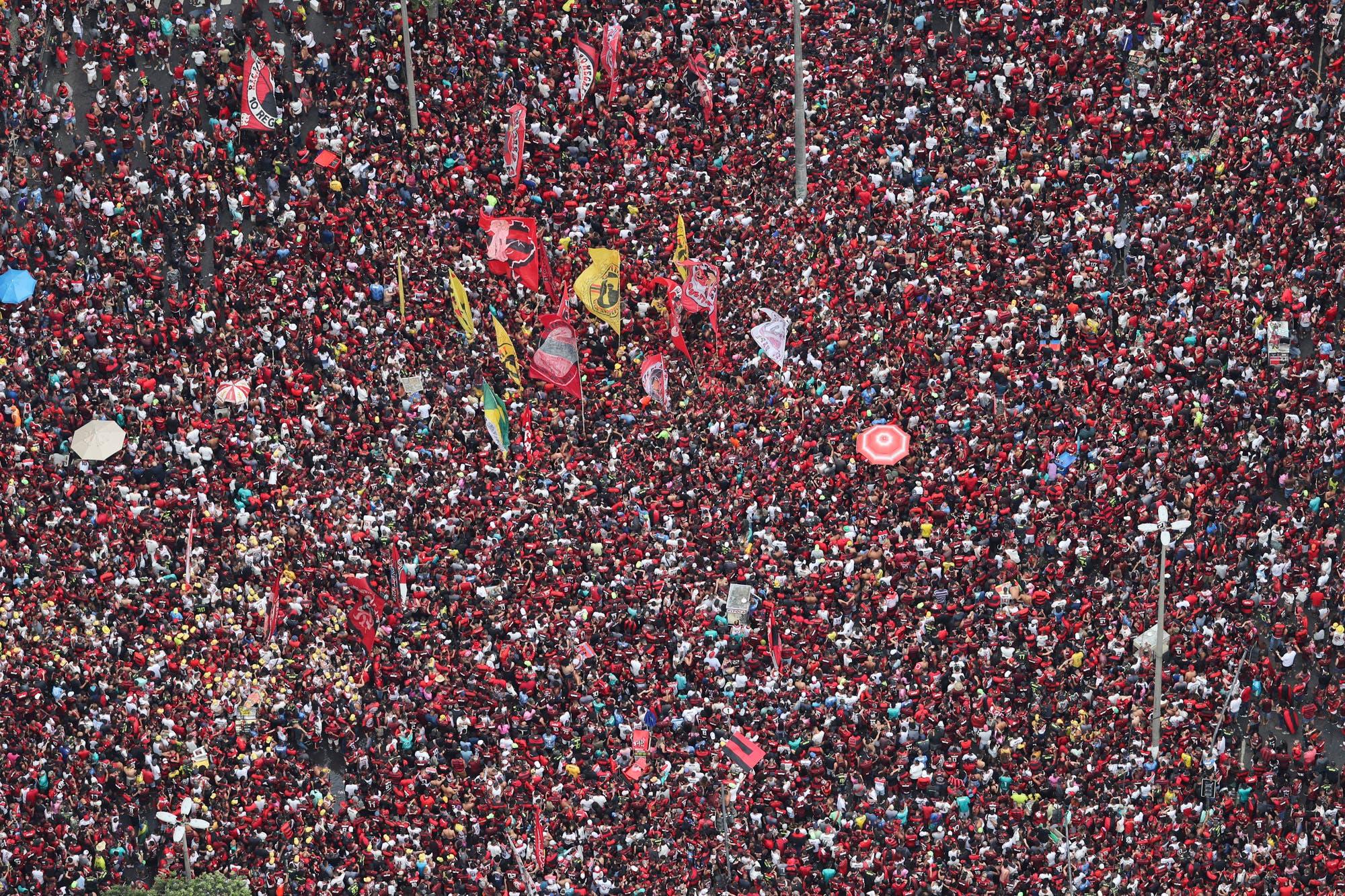 Alegría no tiene fin: en plena fiesta por la Libertadores, Flamengo se consagró en el Brasileirao
