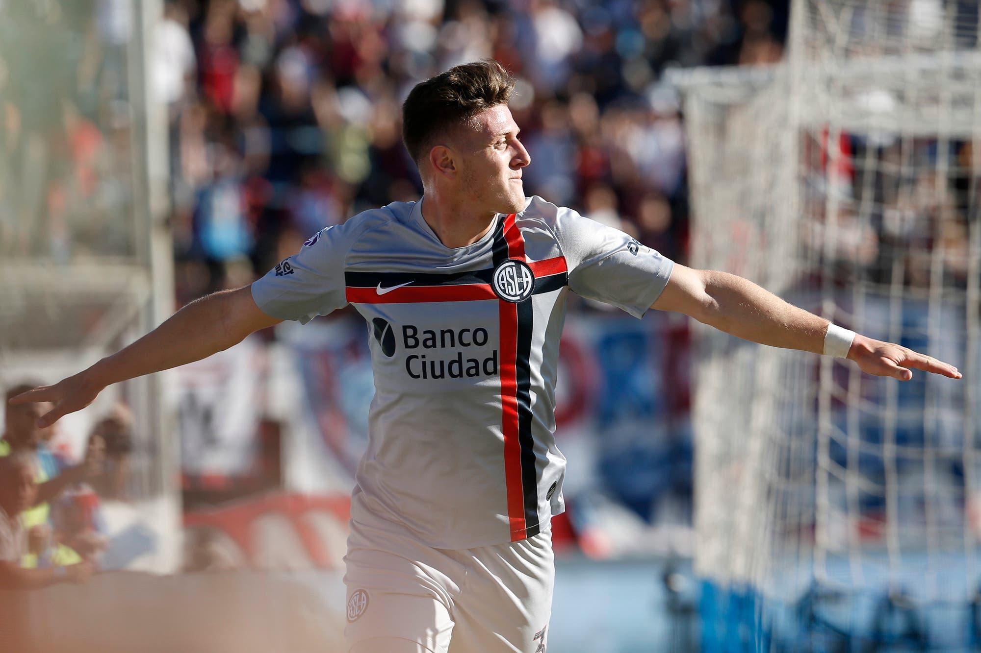 San Lorenzo: Adolfo Gaich, cerca de convertirse en la transferencia récord del club