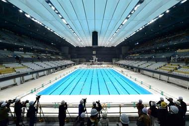 El centro acuático de Tokio 2020