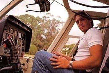 A fines de 1994, Carlitos Menem se accidentó con su helicóptero al intentar aterrizar en Anillaco, La Rioja