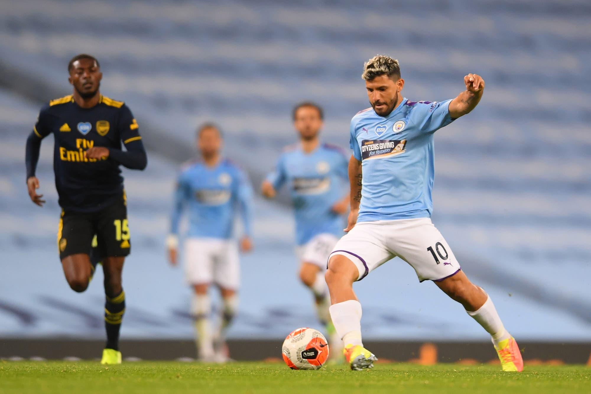 Premier League: Manchester City goleó a Arsenal en una noche con lesionados y los lamentos de David Luiz